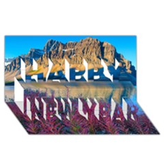 Banff National Park 1 Happy New Year 3d Greeting Card (8x4)  by trendistuff