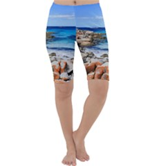 BAY OF FIRES Cropped Leggings by trendistuff