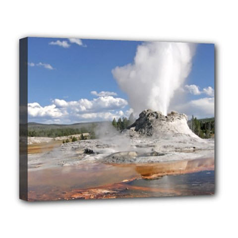 Yellowstone Castle Deluxe Canvas 20  X 16