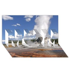 Yellowstone Castle Mom 3d Greeting Card (8x4)  by trendistuff