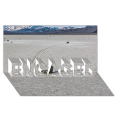Sailing Stones Engaged 3d Greeting Card (8x4)  by trendistuff