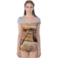 Petrified Desert Short Sleeve Leotard by trendistuff
