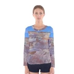 Painted Desert Women s Long Sleeve T Shirts by trendistuff