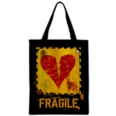 Fragile Heart Classic Tote Bag by typewriter