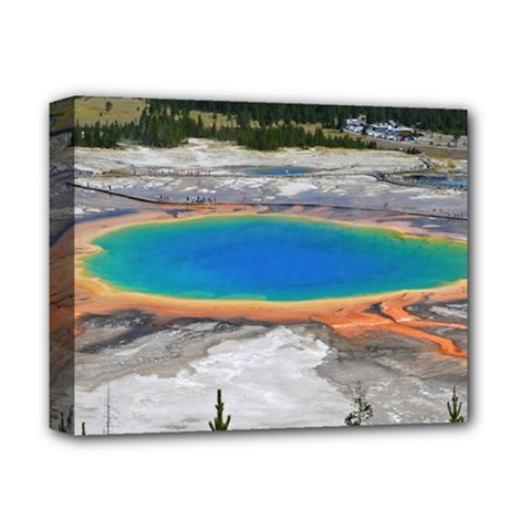 Grand Prismatic Deluxe Canvas 14  X 11  by trendistuff