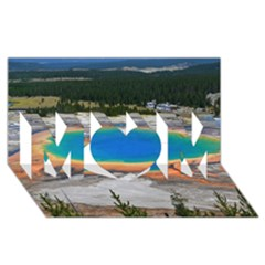 Grand Prismatic Mom 3d Greeting Card (8x4)  by trendistuff