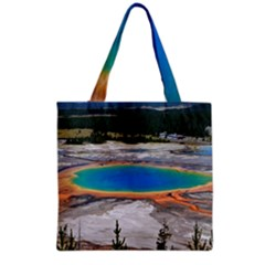 Grand Prismatic Grocery Tote Bags by trendistuff
