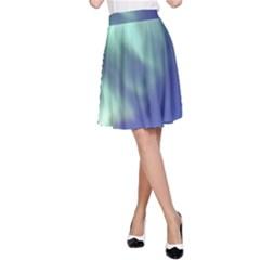 AURORA BOREALIS A-Line Skirt by trendistuff