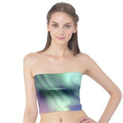 Aurora Borealis Women s Tube Tops by trendistuff