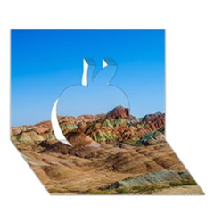 Zhangye Danxia Apple 3d Greeting Card (7x5)  by trendistuff