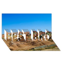 Zhangye Danxia Best Bro 3d Greeting Card (8x4)  by trendistuff