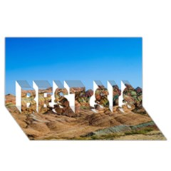 Zhangye Danxia Best Sis 3d Greeting Card (8x4)  by trendistuff