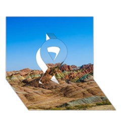 Zhangye Danxia Ribbon 3d Greeting Card (7x5)