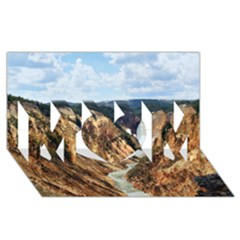 Yellowstone Gc Mom 3d Greeting Card (8x4)  by trendistuff