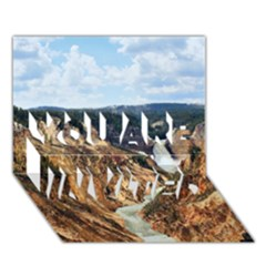 Yellowstone Gc You Are Invited 3d Greeting Card (7x5)