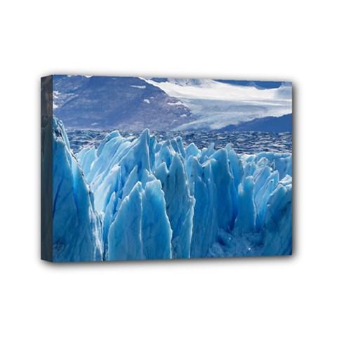 Upsala Glacier Mini Canvas 7  X 5