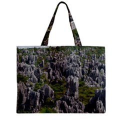 Stone Forest 1 Zipper Tiny Tote Bags by trendistuff