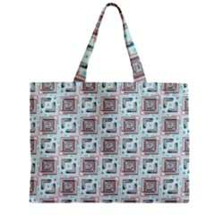 Modern Pattern Factory 04b Zipper Tiny Tote Bags by MoreColorsinLife
