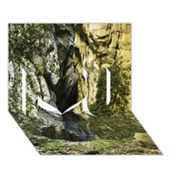 Mountain Path I Love You 3d Greeting Card (7x5)  by trendistuff