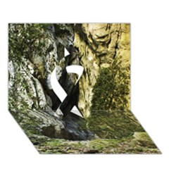 Mountain Path Ribbon 3d Greeting Card (7x5)  by trendistuff
