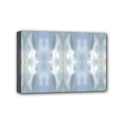 Ice Crystals Abstract Pattern Mini Canvas 6  X 4