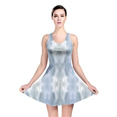 Ice Crystals Abstract Pattern Reversible Skater Dresses by Costasonlineshop