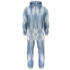 Ice Crystals Abstract Pattern Hooded Jumpsuit (Men)  by Costasonlineshop