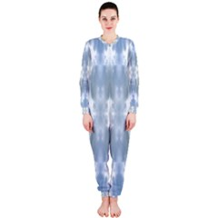 Ice Crystals Abstract Pattern Onepiece Jumpsuit (ladies)  by Costasonlineshop