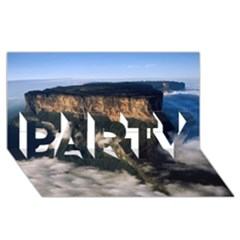 Mount Roraima 2 Party 3d Greeting Card (8x4)  by trendistuff