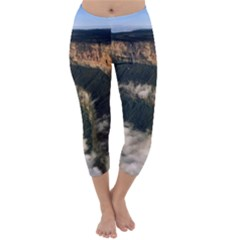 Mount Roraima 2 Capri Winter Leggings  by trendistuff