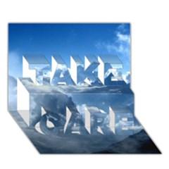 Kangchenjunga Take Care 3d Greeting Card (7x5)  by trendistuff