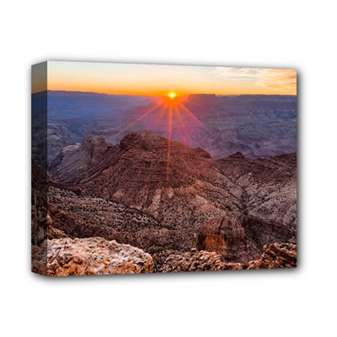 Grand Canyon 1 Deluxe Canvas 14  X 11  by trendistuff
