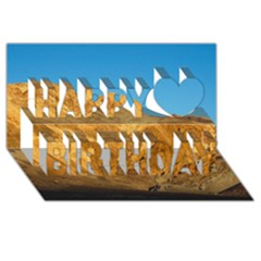 Death Valley Happy Birthday 3d Greeting Card (8x4)  by trendistuff