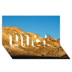 Death Valley Hugs 3d Greeting Card (8x4)  by trendistuff