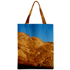Death Valley Zipper Classic Tote Bags by trendistuff