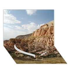 Cappadocia 2 Heart Bottom 3d Greeting Card (7x5)