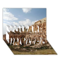 Cappadocia 2 You Are Invited 3d Greeting Card (7x5)