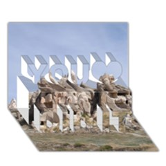 Cappadocia 1 You Did It 3d Greeting Card (7x5)