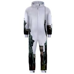 WASHINGTON STATUE Hooded Jumpsuit (Men)  by trendistuff