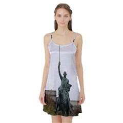 Washington Statue Satin Night Slip by trendistuff