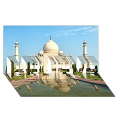 Taj Mahal Believe 3d Greeting Card (8x4)  by trendistuff