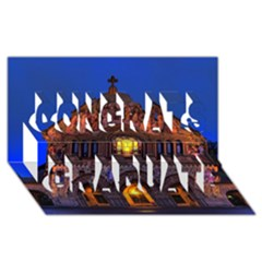 Stanford Chruch Congrats Graduate 3d Greeting Card (8x4)  by trendistuff