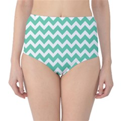 Chevron Pattern Gifts High-Waist Bikini Bottoms by creativemom