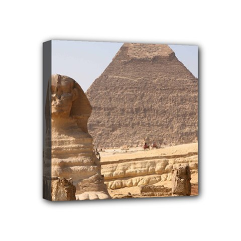 Pyramid Egypt Mini Canvas 4  X 4  by trendistuff