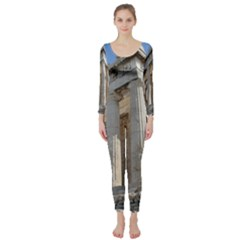 Parthenon Long Sleeve Catsuit by trendistuff