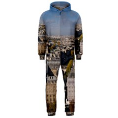 NOTRE DAME Hooded Jumpsuit (Men)  by trendistuff
