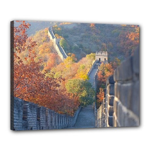 GREAT WALL OF CHINA 1 Canvas 20  x 16  by trendistuff