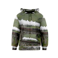 Glenfinnan Viaduct 1 Kids Zipper Hoodies