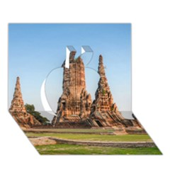 Chaiwatthanaram Apple 3d Greeting Card (7x5)  by trendistuff