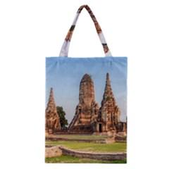 Chaiwatthanaram Classic Tote Bags by trendistuff